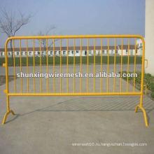 Вороненый контрольный барьер, забор для бассейна