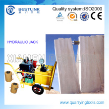 Bestlink Hydraulic Push Machine for Marble Block