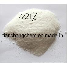 N 21% Sulfato de Amonio Fertilizante de Nitrógeno de Alta Calidad