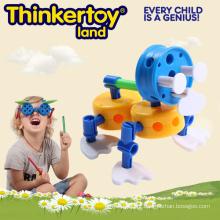 Brinquedo bonito do modelo animal para brinquedos dos blocos de construção dos miúdos