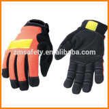 Reflective Safety Lime Abrasion-resistant Work Gloves