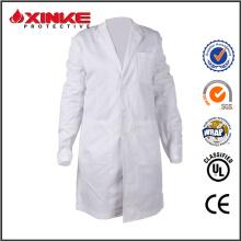 manteau de laboratoire médical blanc antibactérien pour l'hôpital