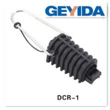 Cuerda de tensión ADSS Abrazadera de cable Dcr-1