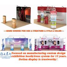 Diseño modular desmontable del stand de la exposición comercial, stand de exposición emergente