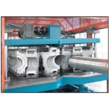 2014 PE double wall corrugated pipe machine