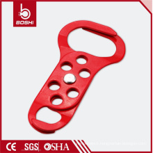 Double Scissor Action Double-End Steel Lockout Hasp (BD-K62)