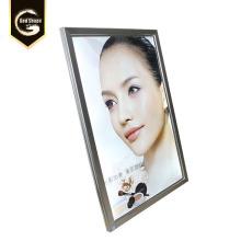 Tableau de menu LED en aluminium personnalisé
