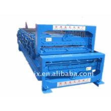 840/900 máquina de prensagem de telhado de camada dupla