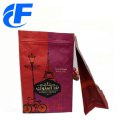 Flat Bottom Side Gusset Plastic Bags For Coffee