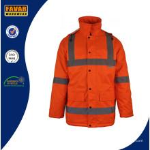 Куртка зимняя дышащая водонепроницаемая высокой видимости