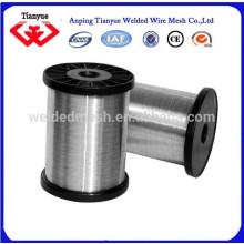 304 alambre de acero inoxidable 1kg / spool