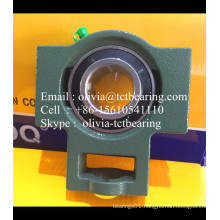 UCT217 pillow block bearings with chrome steel or carbon steel