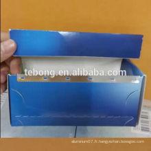 Rouleau de feuille de cheveux 15Micron 4Pcs Bleu, vert, rouge, couleur or