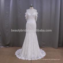 DH017 off shoulder bridre vestidos de novia belle robes de mariée