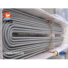 Aço inoxidável U curva tubo ASME SA213M-2013a TP317L