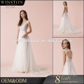 Hot Sell Good Quality 2017 New Style satin wedding dress