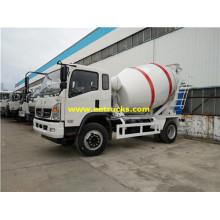Dongfeng 3 CBM 6T Concrete Truck Mixers