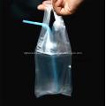 T-shirt de plástico transparente bebidas sacos de varejo