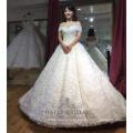Sexy fora do ombro marfim simples vestido de baile vintage vestido de noiva vestido de noiva