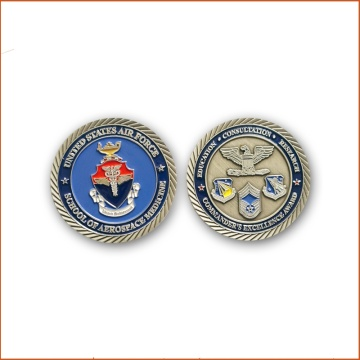 Venta al por mayor Custom Military Challenge Coins