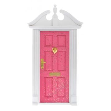 Fairy Garden Door by Wooden Multicolor Opened