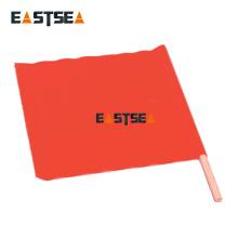 Drapeau de trafic extérieur en tissu orange