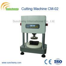 Verificador de borracha / tipo pneumático máquina de corte Cm-02