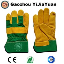 Ab Grade Golden Cow Grain Leather Work Driving Gloves