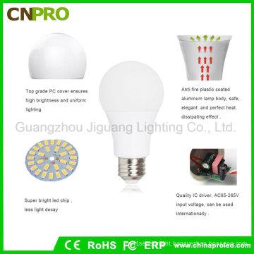 High Quality SMD5730 LED 9W Plastic Coated Aluminum LED Bulb