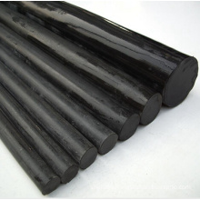 Solid Extruded Plastic PVC Round Rods