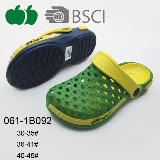 China New Design Soft Plastic Fashion Ladies Clogs
