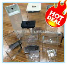 HIGHLIGHT S035 HOT sales EAS safer / am/rf keeper/High Quality Safer Products Cosmetics Display plastic hard box