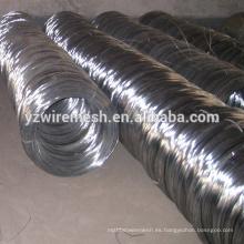 BWG 16 # alambre electro galvanizado / electro alambre galvanizado del hierro para las Filipinas