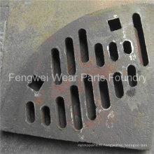 Remplisseuses de moulin à billes en acier à manganèse sur mesure