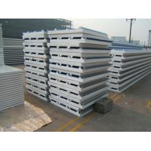 Edifício Material telhado sanduíche painel pu e eps painel de sanduíche