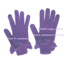 Кашемировые вязаные перчатки