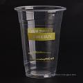 Clear Juice Glass con tapa