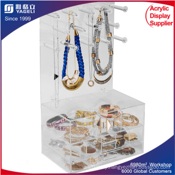 Acrylic Jewellery Organiser, Acrylic Box for Makeup Storage