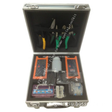 FTTH Optical Fiber to Home Special Toolkit with 18 Piece