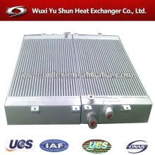 Radiador, tanque, óleo, refrigerador, compressor