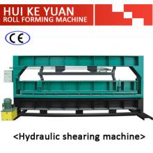 Máquina de cisalhamento hidráulico de folha de aço padrão de exportação