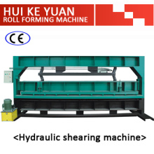 Exportieren Sie Standard Stahlblech hydraulische Schermaschine