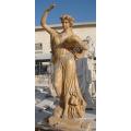 Carving Skulptur Marmor Stein Statue für Garten Dekoration (SY-X1317)