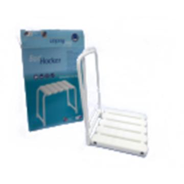 Portable armrest shower seat