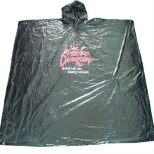 Promotional LDPE Disponible Rain ponchos