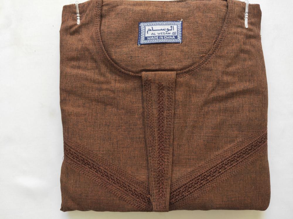 Breathable Fabric Muslim Thobe For Boy 2 Jpg