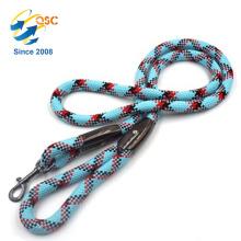 Trela de corda de cão de nylon de montanha médio e grande raças de montanha