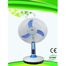 Ventilador de mesa solar de 16 pulgadas Ventilador recargable de 12 V FT-40DC-H3