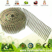 Galvanized Coil Nails for Roofing, Fencing