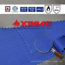88/12 coton / nylon ignifuge tissu pour vêtements 88/12 coton / nylon ignifuge tissu pour vêtements